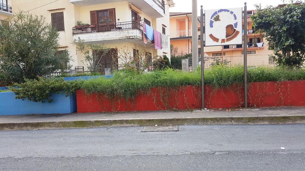 Amantea lazzaroli denuncia il degrado di piazza falcone e borsellino foto - Il giardino di piazza falcone ...
