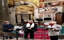 Premio Cassiodoro - Franco Iacucci premia a Roma Maria Voce, originaria di Aiello Calabro e presidente dell'ordine dei Focolarini