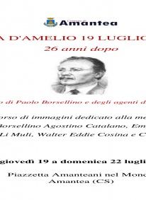 Un ricordo di Paolo Borsellino e degli agenti della scorta