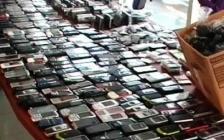 Sette persone rubano circa 30 mila euro di telefonini
