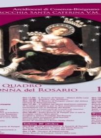 Paola, arriva il quadro pellegrino della Madonna di Pompei: oggi cerimonia e processione