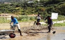 I profughi lavorano per il comune di Longobardi