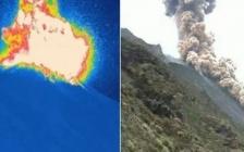 Stromboli, forte esplosione dal vulcano e pioggia di cenere sull'Isola.