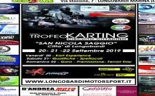 "Trofeo Karting ""San Nicola Saggio"" Longobardi (Cs) 20-21-22/settembre 2019"